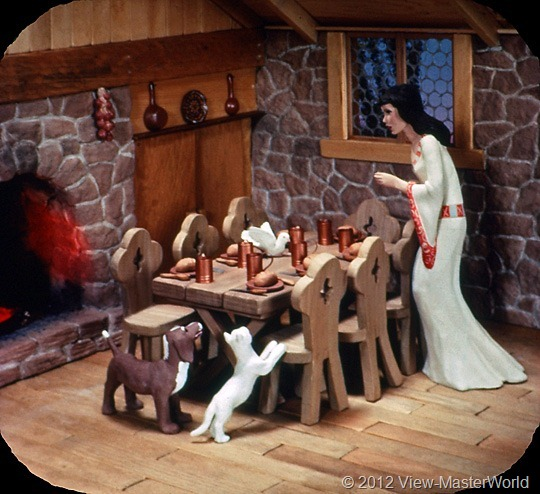 View-Master Snow White and the Seven Dwarfs (B300), Scene 9