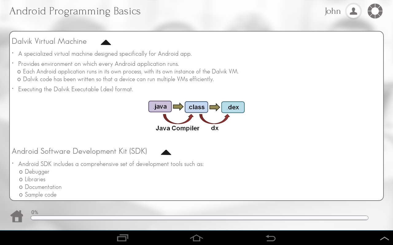 Learn Android Programming- screenshot