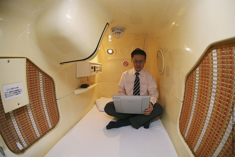 Capsule Hotels In Japan Amusing Planet