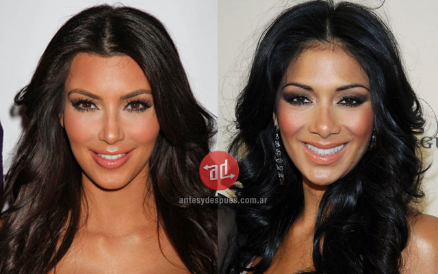 El parecido de Kim Kardashian y Nicole Scherzinger