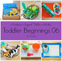 Toddler Beginnings 06: Activities for 16 Months Toddlers