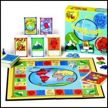 Around the World board game