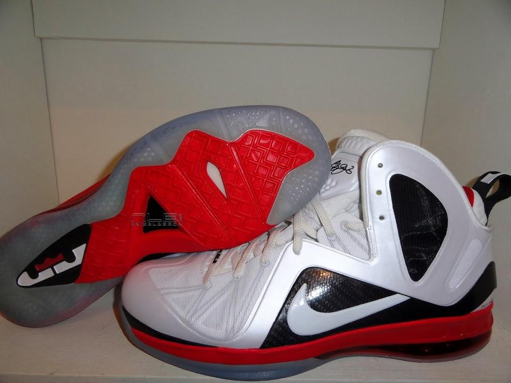 premium selection e6277 1133d LBJ8217s Nike LeBron 9 PE Elite 8211 Miami Heat Home PE 8211 Close .
