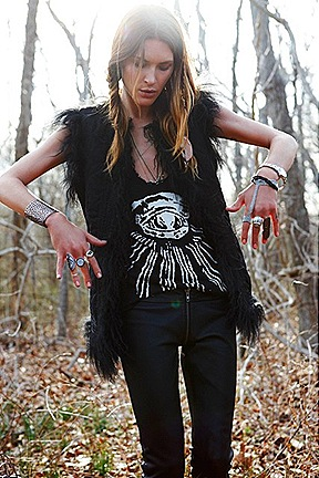 Erin Wassons Zadig & Voltaire FW 2011 Capsule Collection