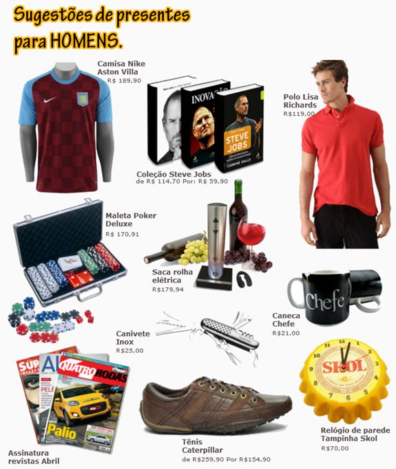 f389bb984918e4 Presente para Homem: Lista com 20 coisas que eles podem gostar de ...