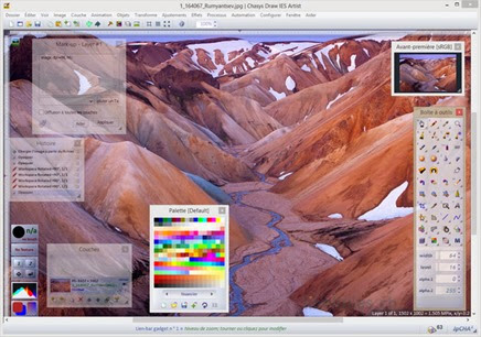 Chasys Draw IES : Photoshop Alternative Free Image Editor