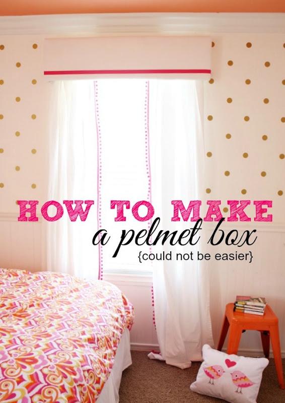 How To Make A Pelmet Box Tutorial