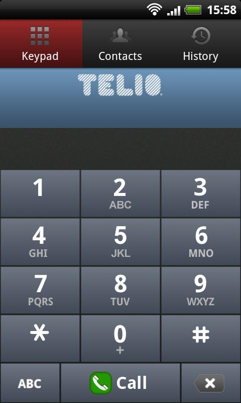 Teliophone - screenshot