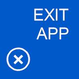 Jerry Nixon on Windows: Mango Sample: Exit Application
