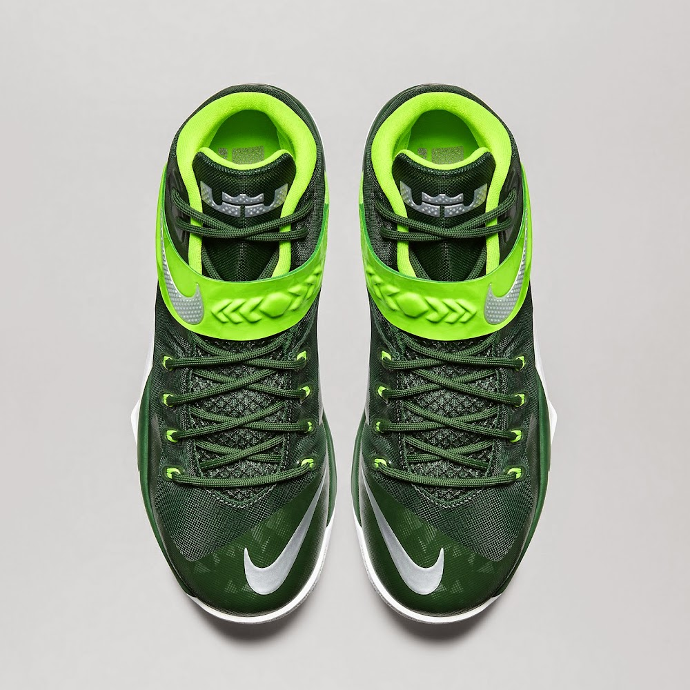 340b217e5bae ... Nike Zoom LeBron Soldier VIII TB 8211 Gorge Green amp Electric Green