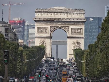 Obiective turistice Franta: Arcul de Triumf