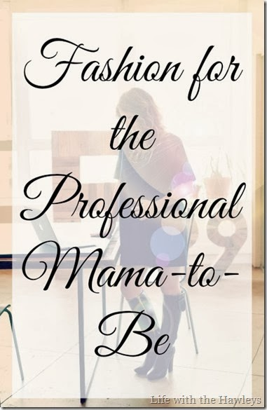 Professional Maternity Fashion