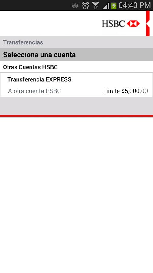 HSBC Móvil- México - screenshot