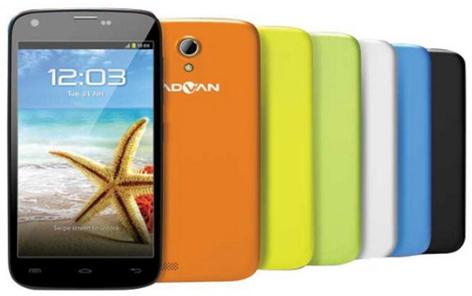 pilihan warna casing Advan Vandroid S4D GAIA