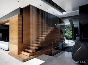 escaleras-madera-flotante-y-barras-de-acero-inoxidable