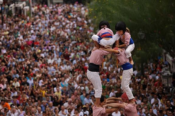 Xiquets de Tarragona, 2 de 7. Diada castellera de Santa Tecla. Festa major de Santa Tecla. Tarragona, Tarragonès, Tarragona