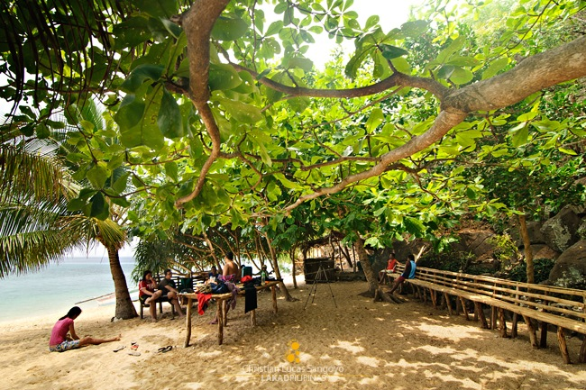 Perfect Place for a Banquet at Banton's Tabunan Beach