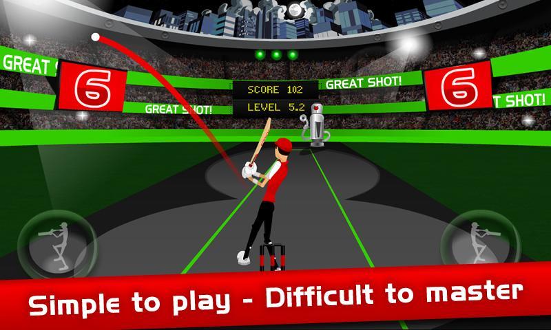 Stick Cricket Super Sixes screenshot #3