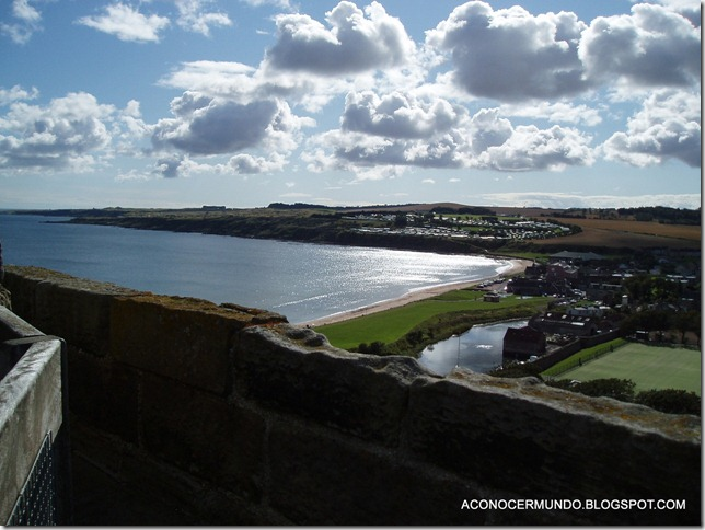 St. Andrews. Catedral. Panorámicas desde Torre de St. Rules-P9089860