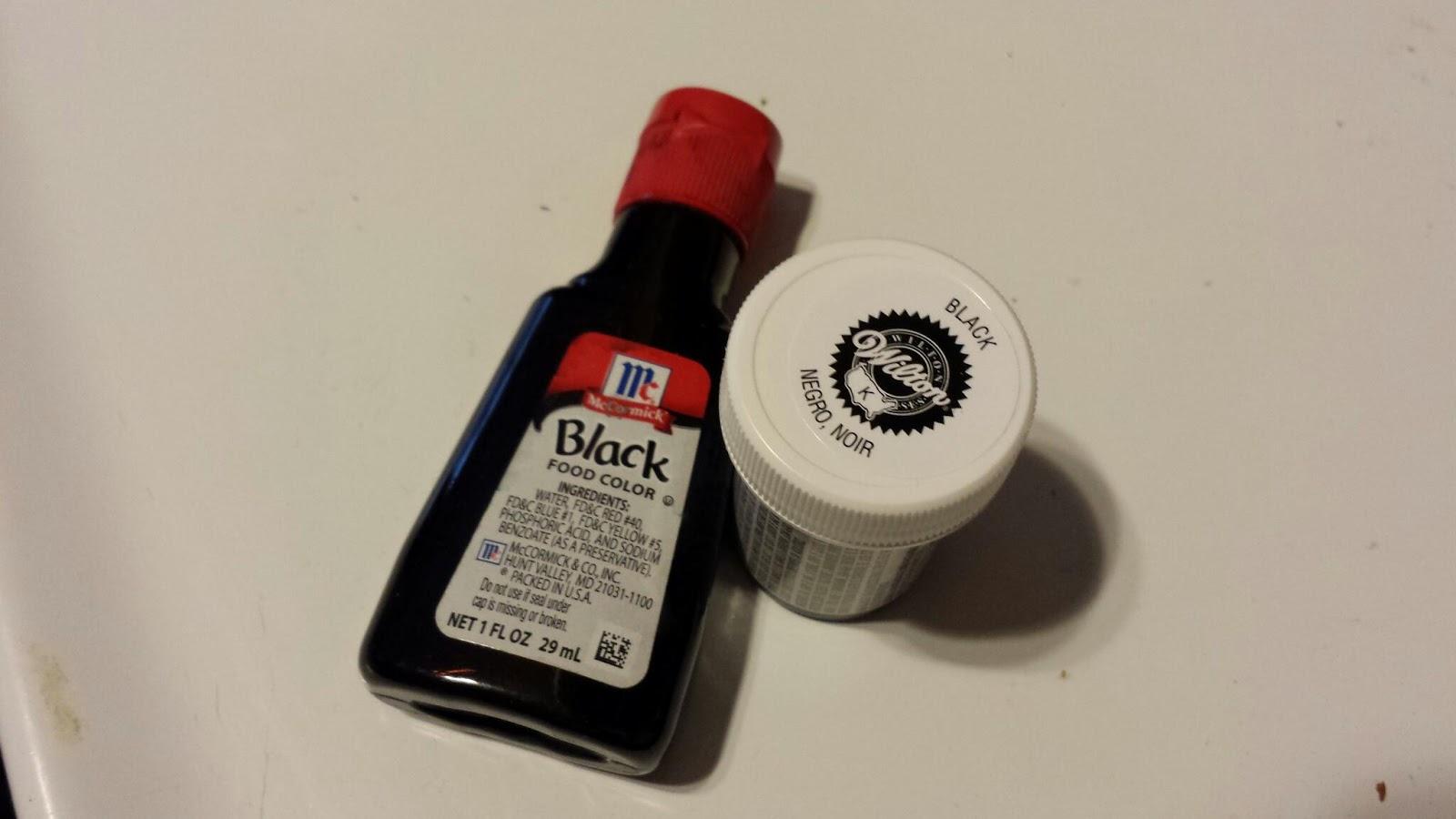 ChemKnits: Breaking Black Food Coloring: Wilton vs McCormick