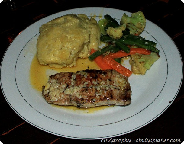 Agus Shipwreck Grilled Marlin Fillet