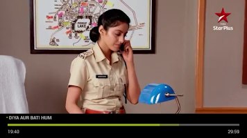 Screenshot of YuppTV for GoogleTV