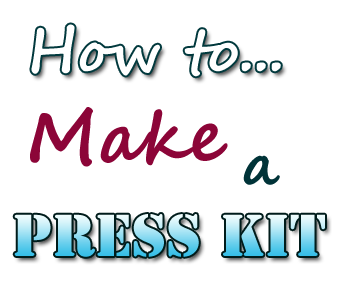 how to make press kit
