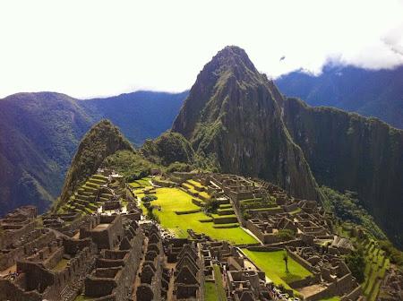 Doi romani si-un tricolor in jurul lumii: Machu Picchu, Peru