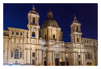 Rom: Geocaching über Silvester - Kirche an der Piazza Navona