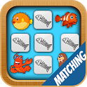 Kids Memory Game - Sea Animals icon