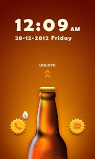 CoolBeer GO Locker Theme - screenshot thumbnail