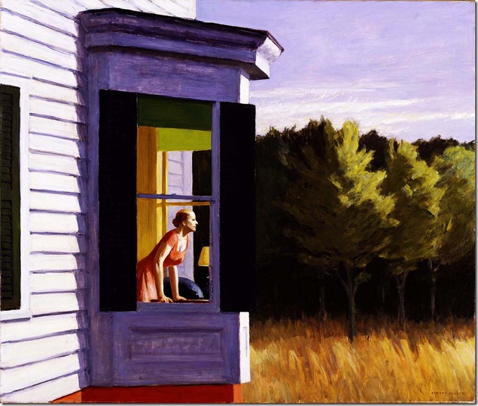 Edward_Hopper_Cape Cod Morning_1950