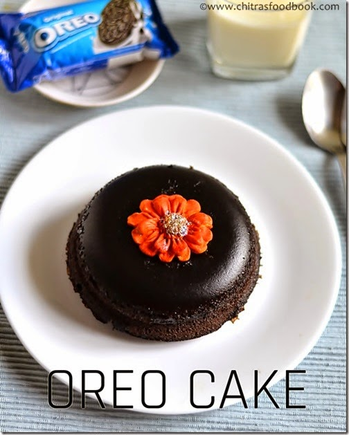 Eggless Oreo Mug Cake Recipe