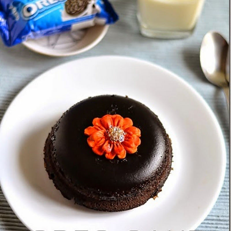 5 Minutes Microwave Eggless Oreo Biscuit Cake Recipe Chitra S Food Book