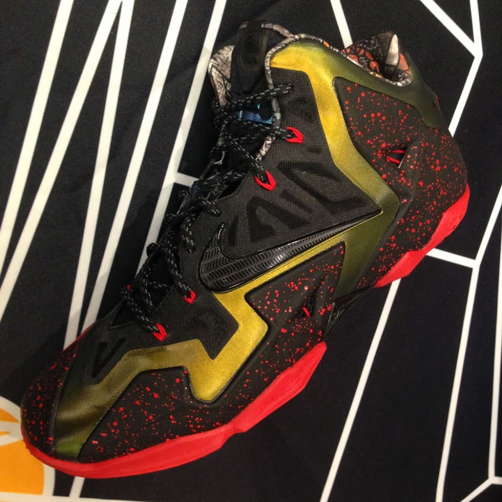 info for 59e17 89a41 ... NIKEiD LeBron 11 Gumbo Samples at NBA AllStar Weekend