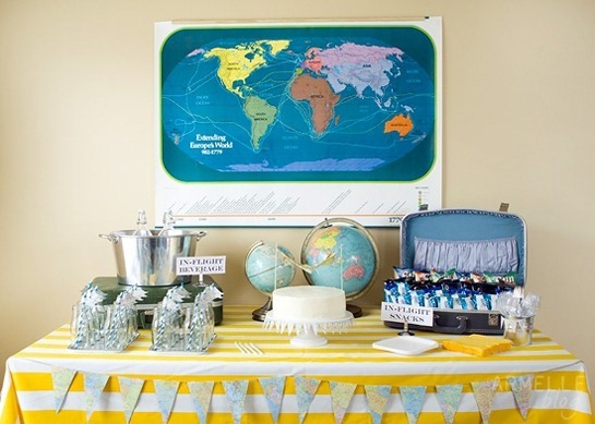 vintage_airplane_birthday_party_dessert_table