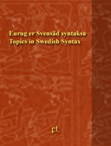 Topics in Swedish Grammar Cover