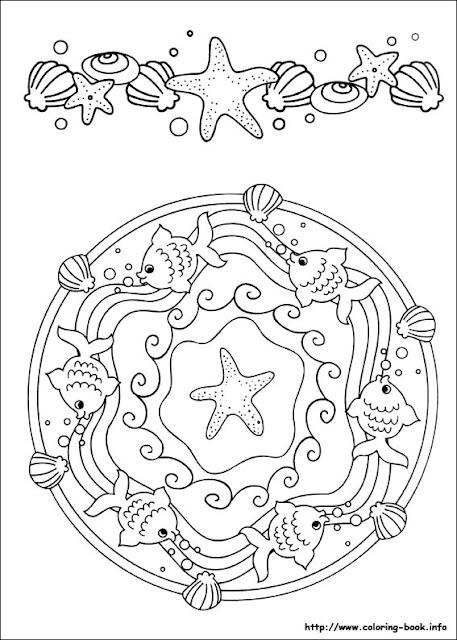 Mandalas Infantiles Para Colorear