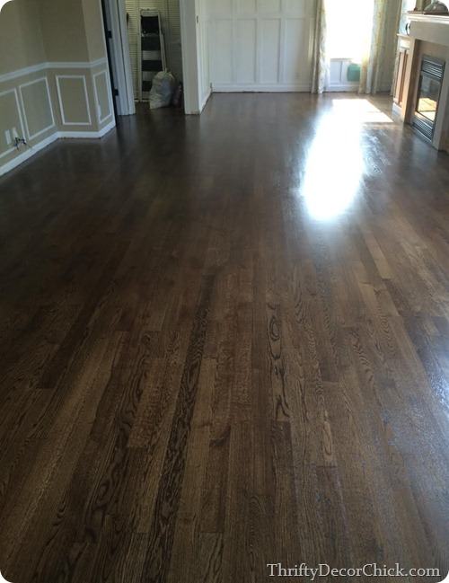jacobean stain floors