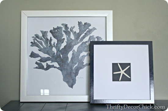 DIY beachy art