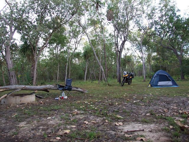 Kakadu NP - Bush (mozzie) camping