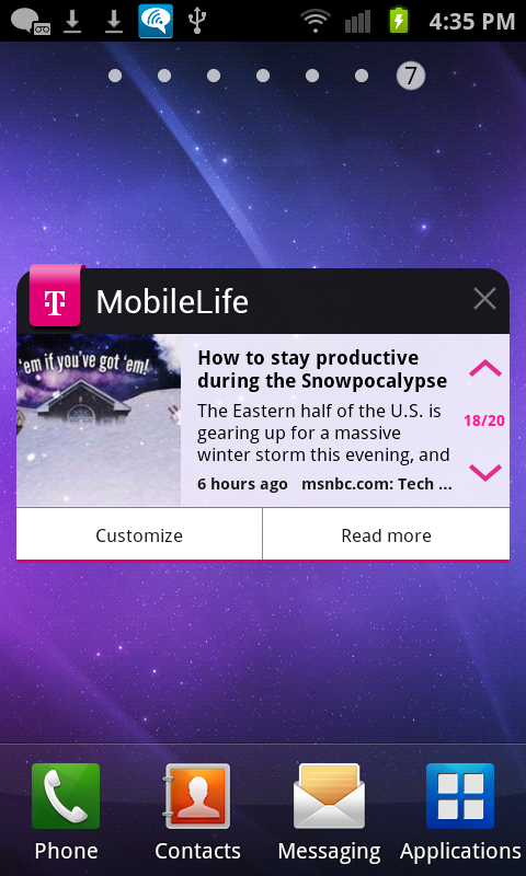 MobileLife with Bonus Apps - screenshot