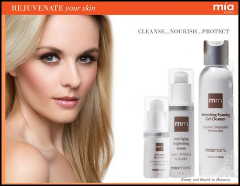 mia mariu skin care trio