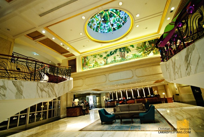 The Grand Lobby at Royal Plaza on Scotts Singapore