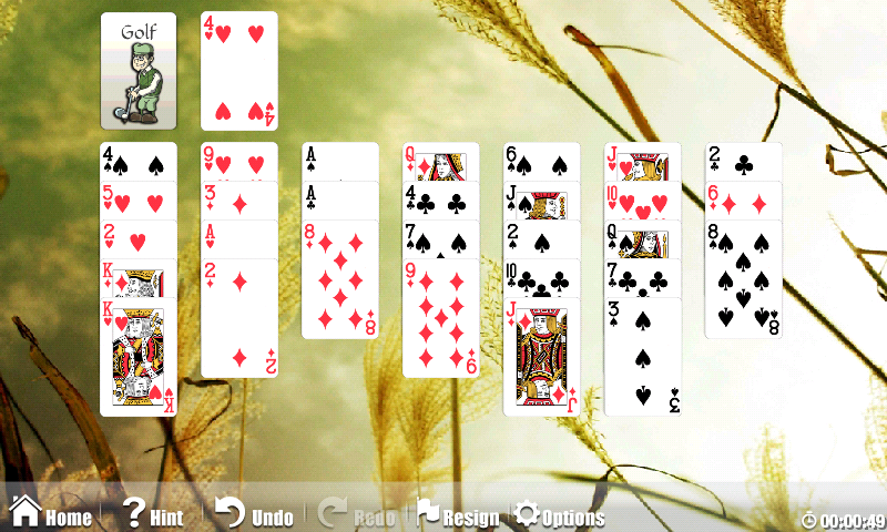 Astraware Solitaire- screenshot
