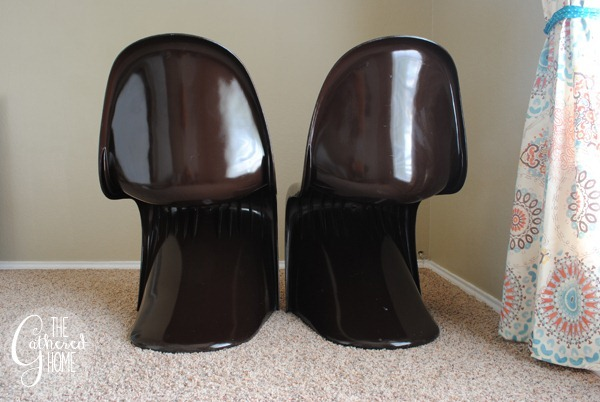 brown panton chairs 7