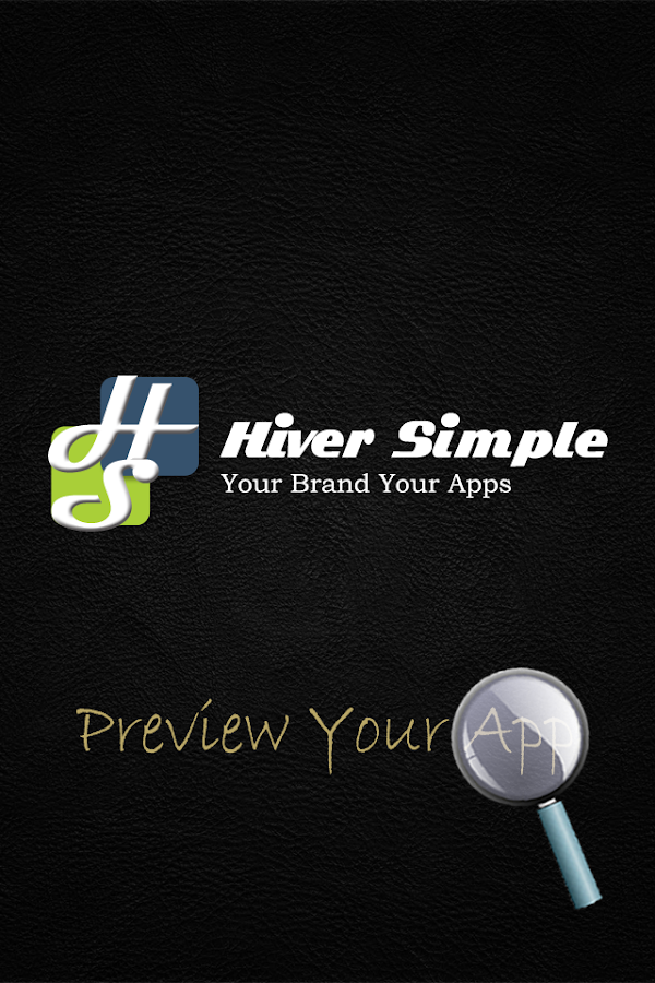 Hiver Simple Preview App - screenshot