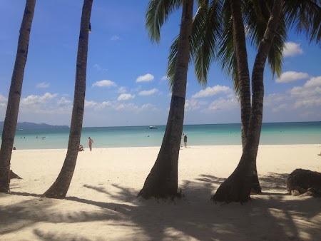 Imagini Filipine: Plaja White Beach Boracay