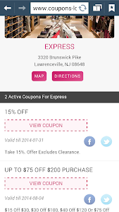 Coupons Locator screenshot 1