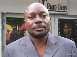 Belard Mbuyi journaliste d'Echo des Grands Lacs, invité de Radio Okapi à Kinshasa.